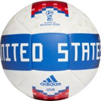 Deals on 2 Adidas USA Supporters Soccer Ball