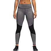 adidas Women's Believe This Core Heather Panel Tights