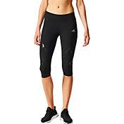 adidas Women's adizero Sprintweb ¾ Compression Running Tights