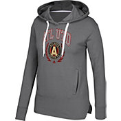 adidas Women's Atlanta United Laurel Graphite Pull Over Hoodie