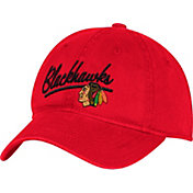 adidas Women's Chicago Blackhawks Red Slouch Adjustable Hat