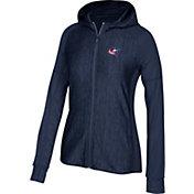 adidas Women's Columbus Blue Jackets Logo Navy Full-Zip Hoodie