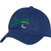 adidas Women's Vancouver Canucks Navy Slouch Adjustable Hat