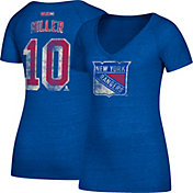 CCM Women's New York Rangers J.T. Miller #10 Royal T-Shirt