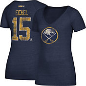 CCM Women's Buffalo Sabres Jack Eichel #15 Royal T-Shirt