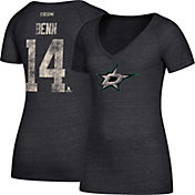 CCM Women's Dallas Stars Jamie Benn #14 Black T-Shirt