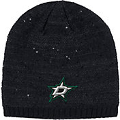adidas Women's Dallas Stars Fashion Black Beanie
