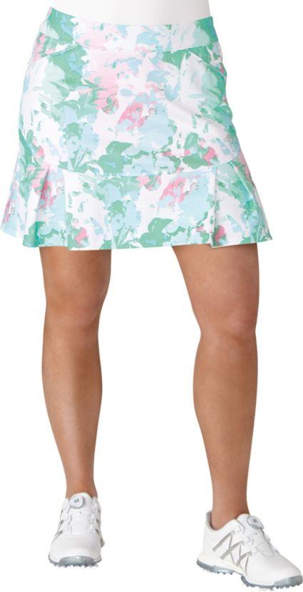 adidas Women's Pleated Fashion Floral Golf Skort