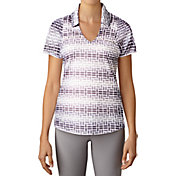adidas Women's Merch Print Golf Polo
