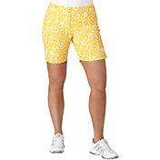 "adidas Women's Essential Printed 7"" Golf Shorts"
