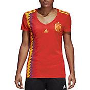 adidas Women's Spain Replica Home Red Stadium Jersey