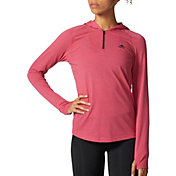 adidas Women's Ultimate 1/4 Zip Hooded T-Shirt