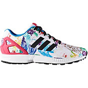 adidas Women's ZX Flux Print Casual Shoes