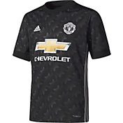 adidas Youth Manchester United 17/18 Replica Away Jersey