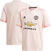 adidas Youth Manchester United 2018 Stadium Away Replica Jersey