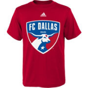 adidas Youth FC Dallas Big Logo Red T-Shirt
