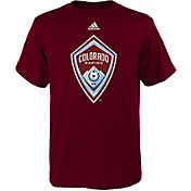 adidas Youth Colorado Rapids Big Logo Burgundy T-Shirt
