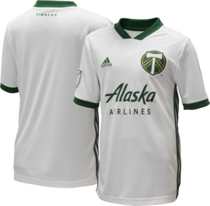 0b7c1f71d adidas Youth Portland Timbers Secondary Replica Jersey | DICK'S ...