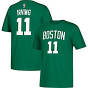 adidas Youth Boston Celtics Kyrie Irving #11 Kelly Green T-Shirt