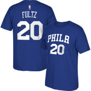 adidas Youth Philadelphia Sixers Markelle Fultz #20 Royal T-Shirt