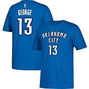 adidas Youth Oklahoma City Thunder Paul George #13 Blue T-Shirt