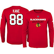adidas Youth Chicago Blackhawks Patrick Kane #88 Red Long Sleeve Shirt