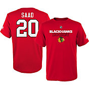 adidas Youth Chicago Blackhawks Brandon Saad #20 Red T-Shirt