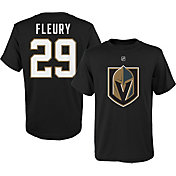 NHL Youth Vegas Golden Knights Marc-Andre Fleury #29 Black T-Shirt