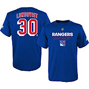 adidas Youth New York Rangers Henrik Lundqvist #30 Royal T-Shirt
