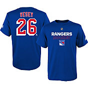adidas Youth New York Rangers Jimmy Vesey #26 Royal T-Shirt