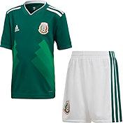 adidas Toddler Mexico Replica Home Green Stadium Jersey Set