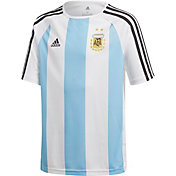 adidas Youth Argentina White Training T-Shirt