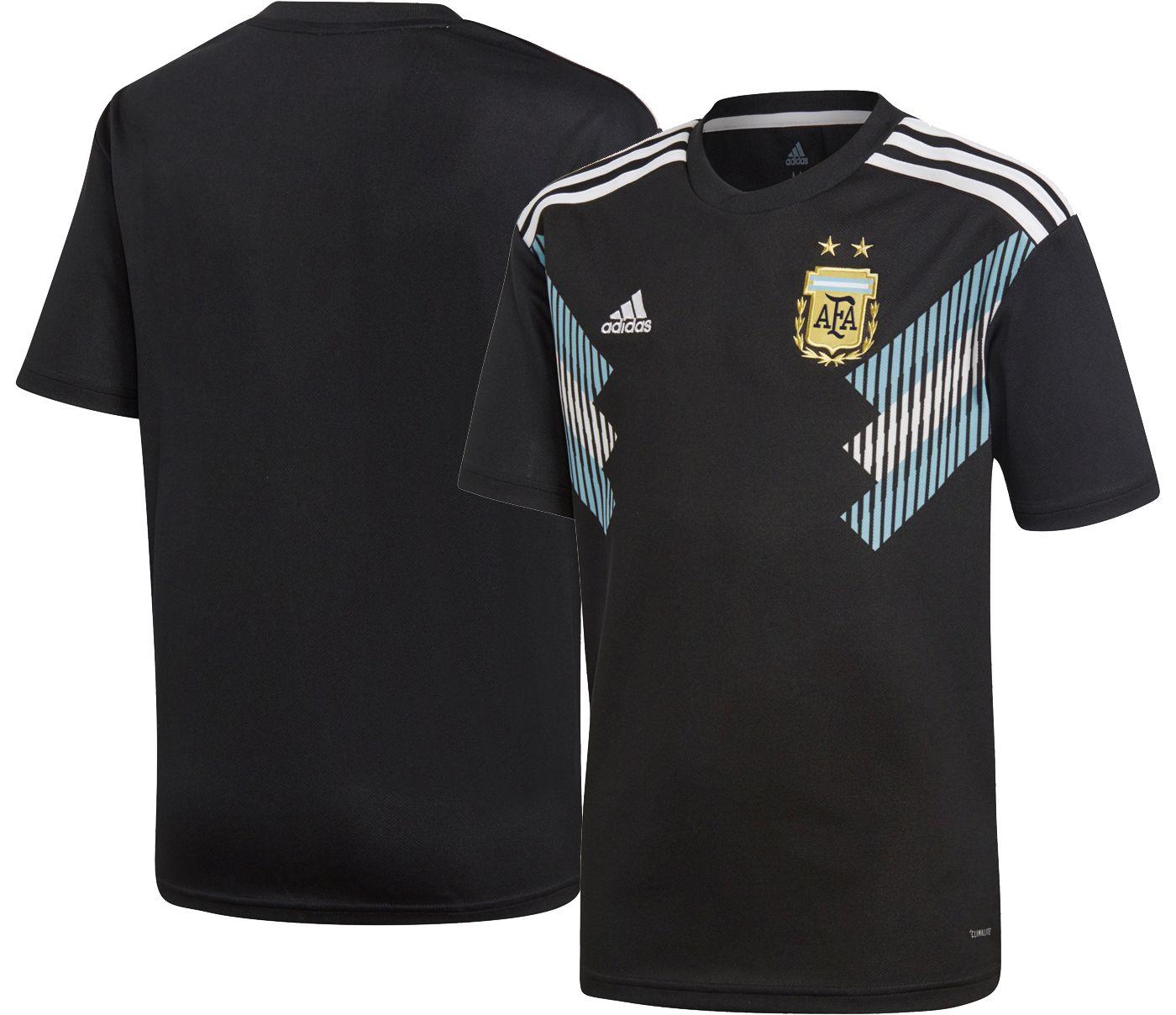adidas Youth 2018 FIFA World Cup Argentina Stadium Away Replica Jersey