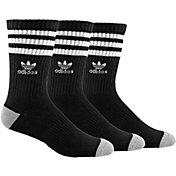 adidas Kids' Originals Roller Crew Socks 3 Pack