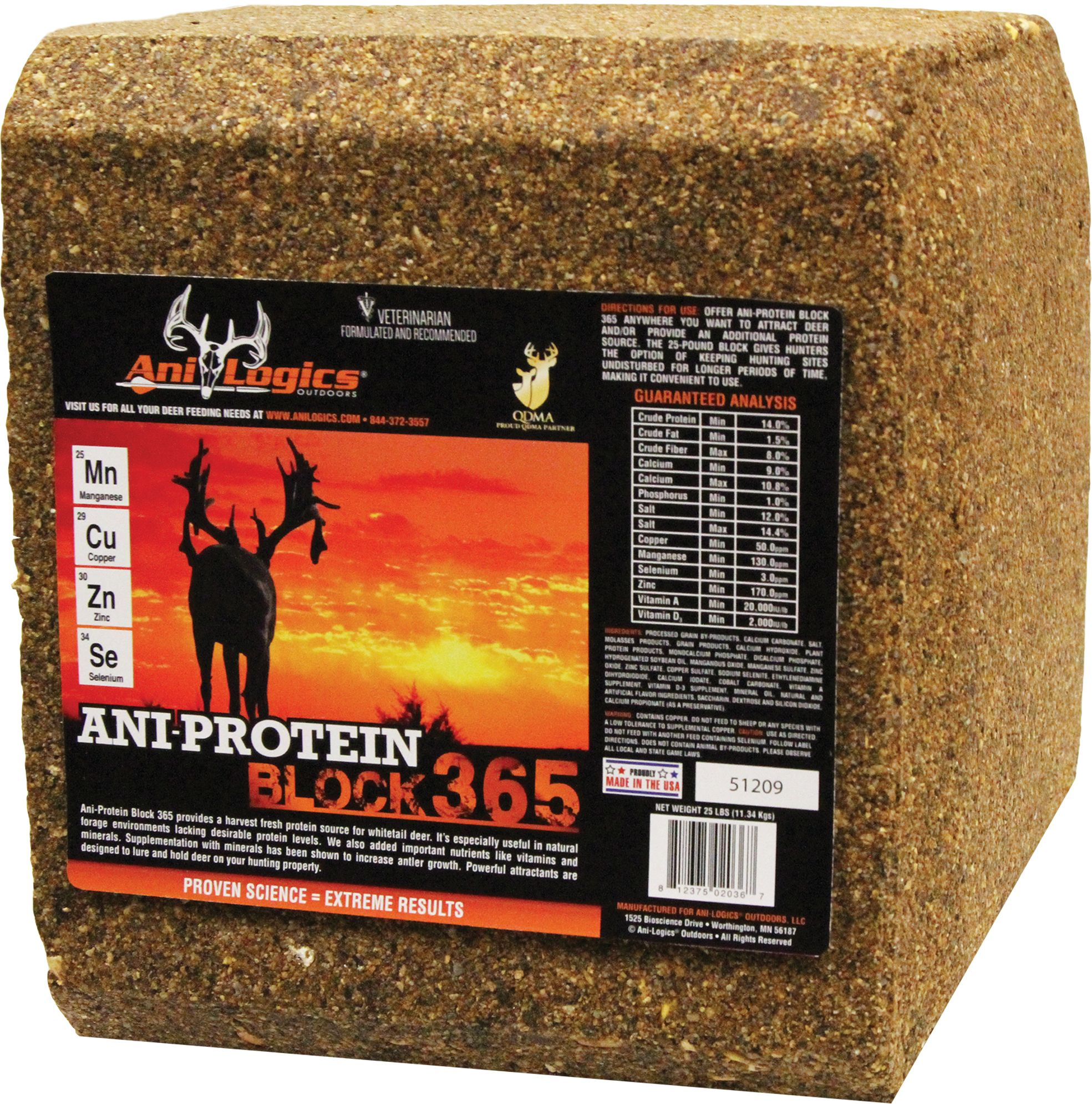 Ani-Logics Ani-Protein Block 365 Deer Attractant thumbnail