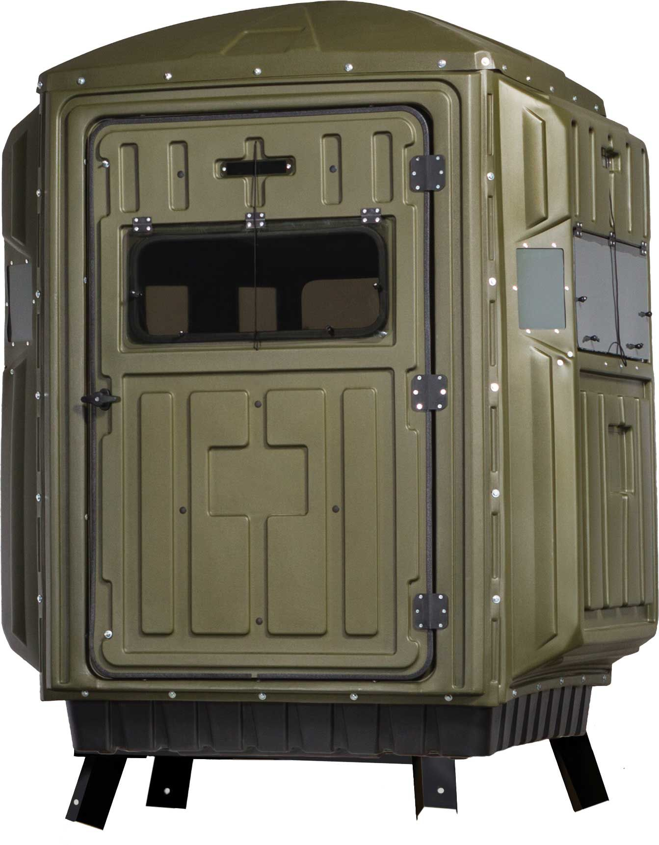 Advantage Hunting Two-Person Box Blind Kit - Quad Pod thumbnail
