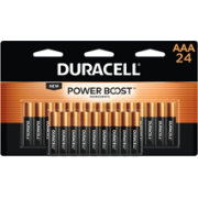 Duracell Coppertop AAA Alkaline Batteries – 24 Pack