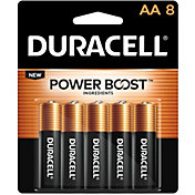 Duracell Coppertop AA Alkaline Batteries – 8 Pack