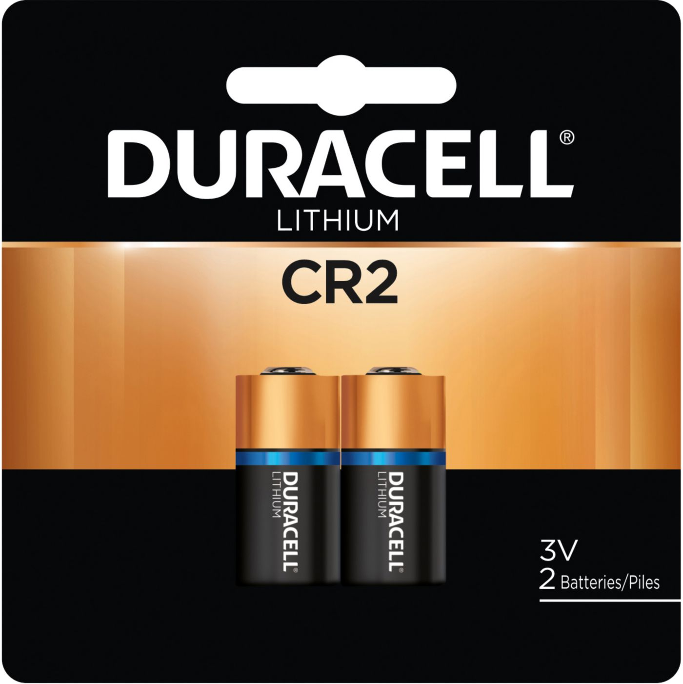 Duracell CR2 3V Lithium Batteries – 2 Pack