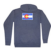 Aksels Men's Colorado Flag Hoodie