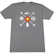 Aksels Men's Colorado Arrows Tri-Blend T-Shirt