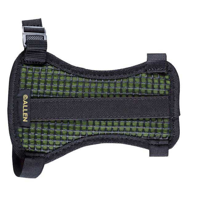 Allen Medium Mesh Armguard, Black/Green thumbnail
