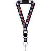 Houston Astros Black Lanyard