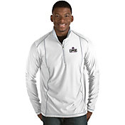 Antigua Men's Los Angeles Clippers Tempo White Quarter-Zip Pullover