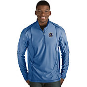 Antigua Men's Dallas Mavericks Tempo Royal Quarter-Zip Pullover