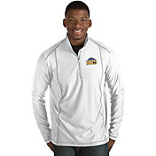 Antigua Men's Denver Nuggets Tempo White Quarter-Zip Pullover