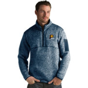 Antigua Men's Indiana Pacers Fortune Navy Half-Zip Pullover