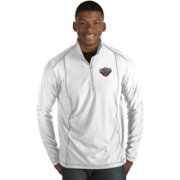 Antigua Men's New Orleans Pelicans Tempo White Quarter-Zip Pullover