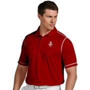 Antigua Men's Houston Rockets Icon Red Performance Polo