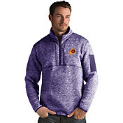Antigua Men's Phoenix Suns Fortune Purple Half-Zip Pullover